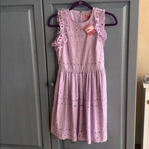 Kate Spade Eyelet Mini Dress